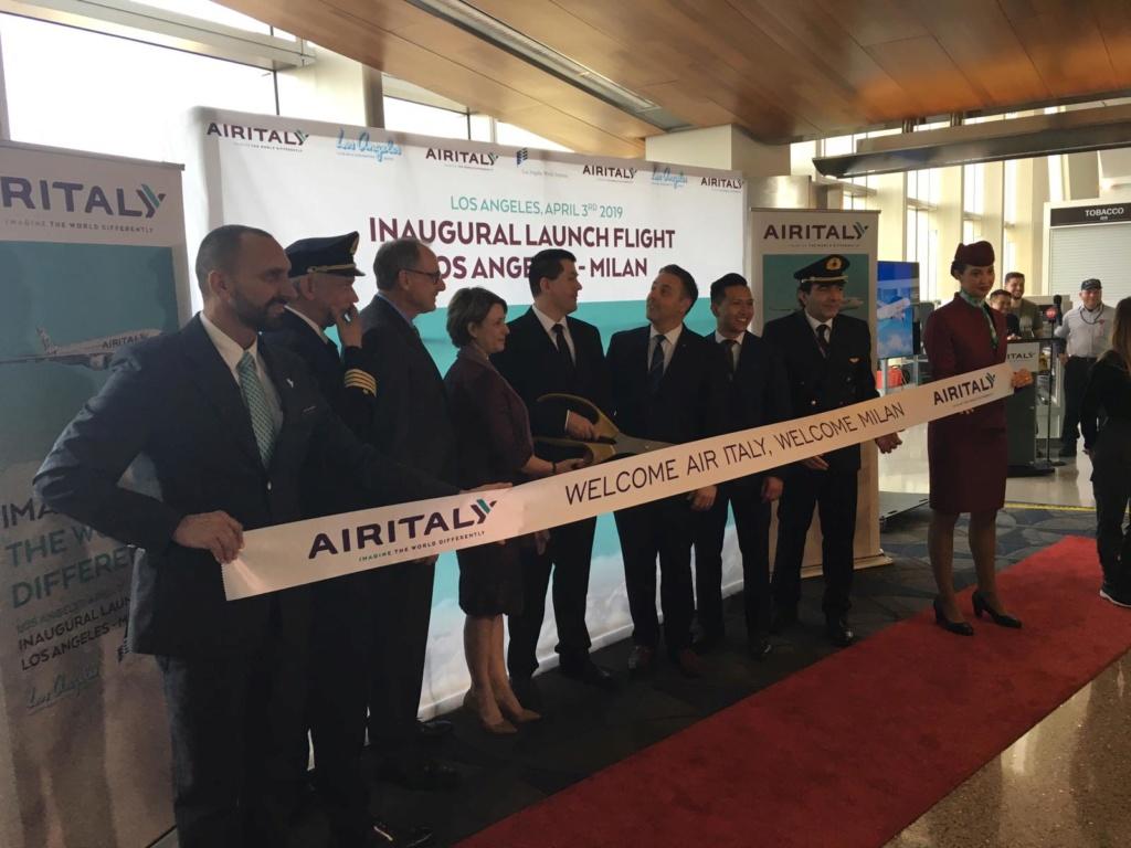 Evento: inaugurazione Airitaly Milano-Los Angeles 1d86ff10