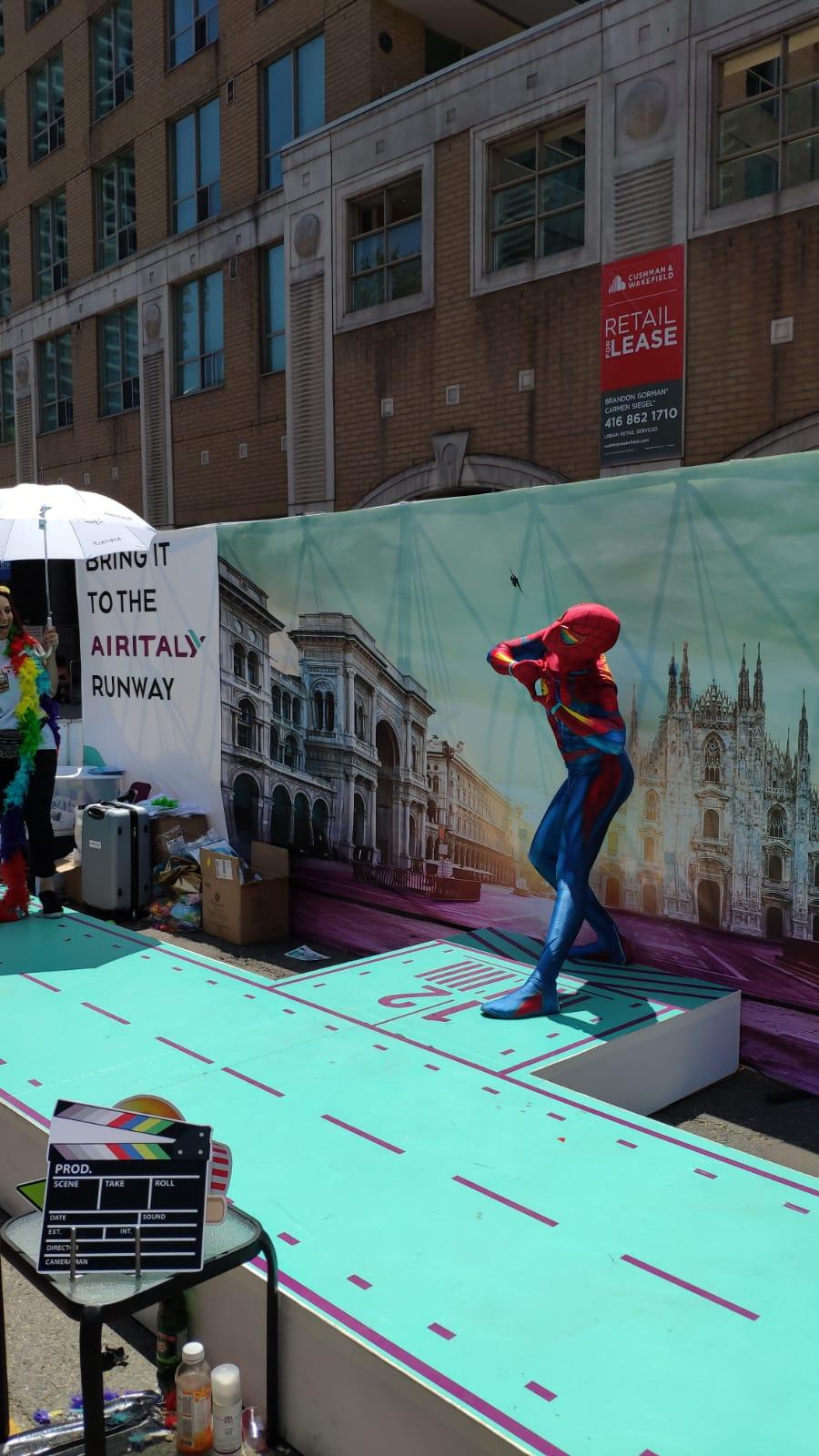 Airitaly sponsor Toronto Pride  1e518610