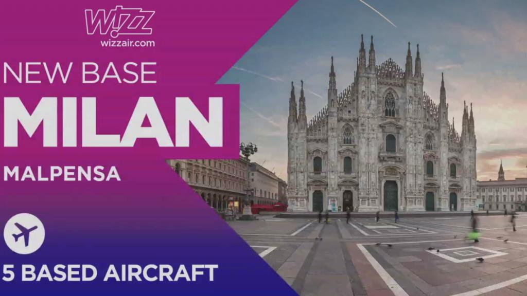 WizzAir MXP/BGY e inaugurazione base MXP  204cea10