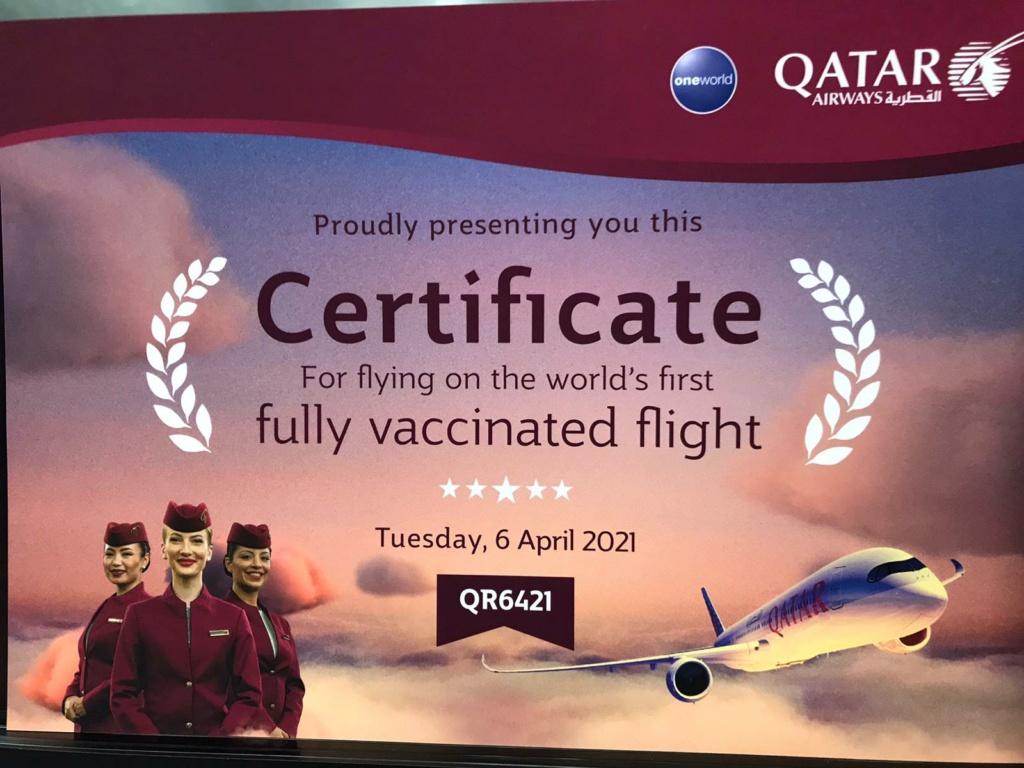 Qatar Airways 2021 29441910