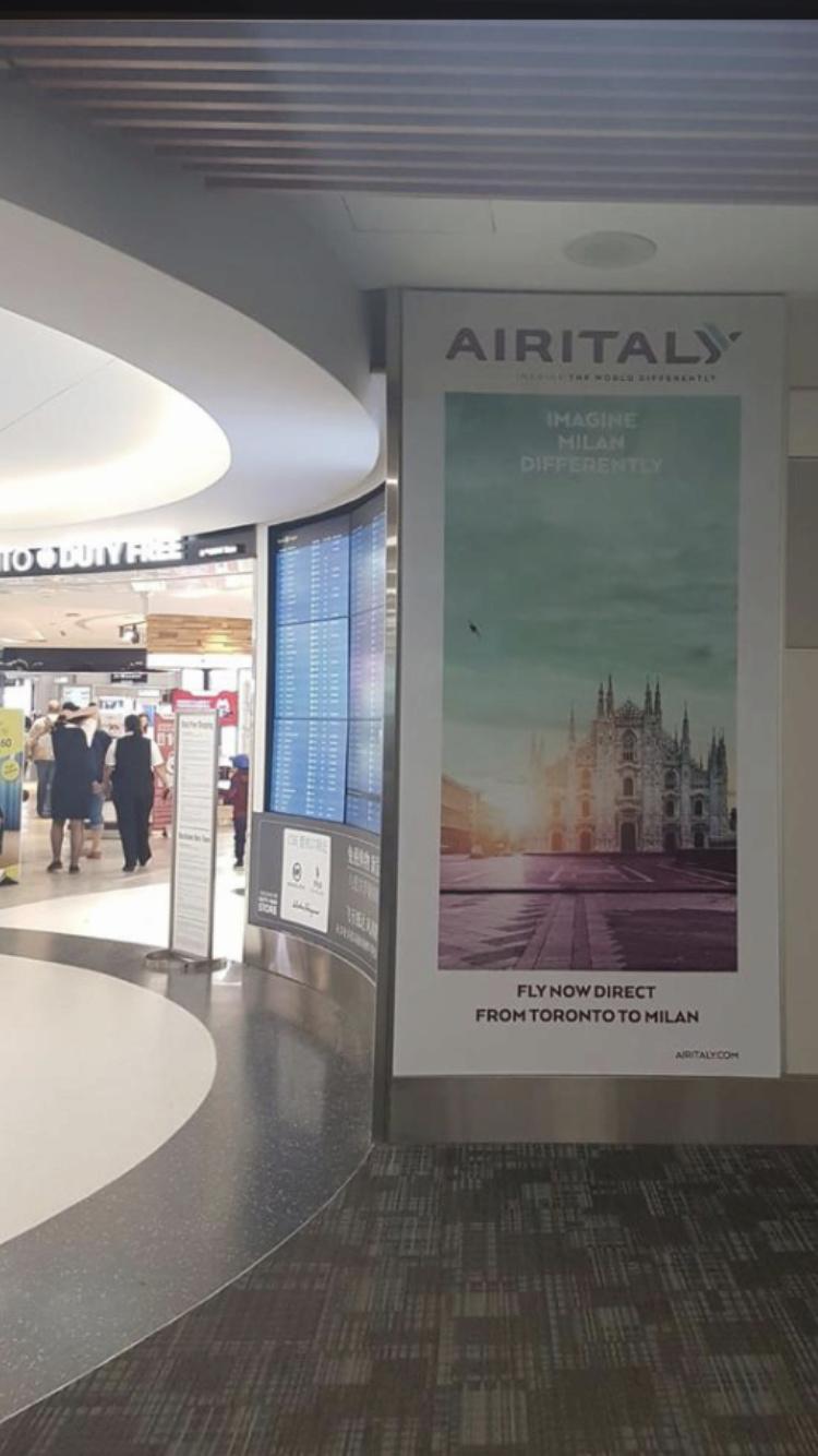 Inaugurazione Milano-Toronto Airitaly 29a20710