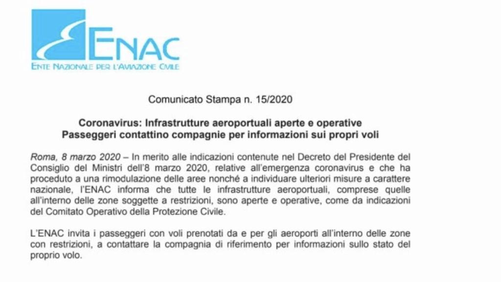 Coronavirus - impatti sull'aviazione in Italia e nel mondo - Pagina 4 32db8b10