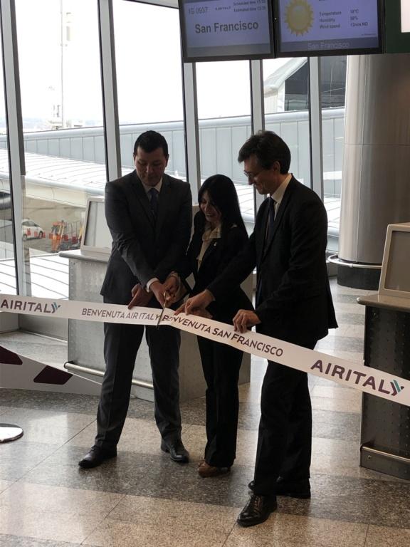 Evento: inaugurazione Airitaly Milano-San Francisco 48438510