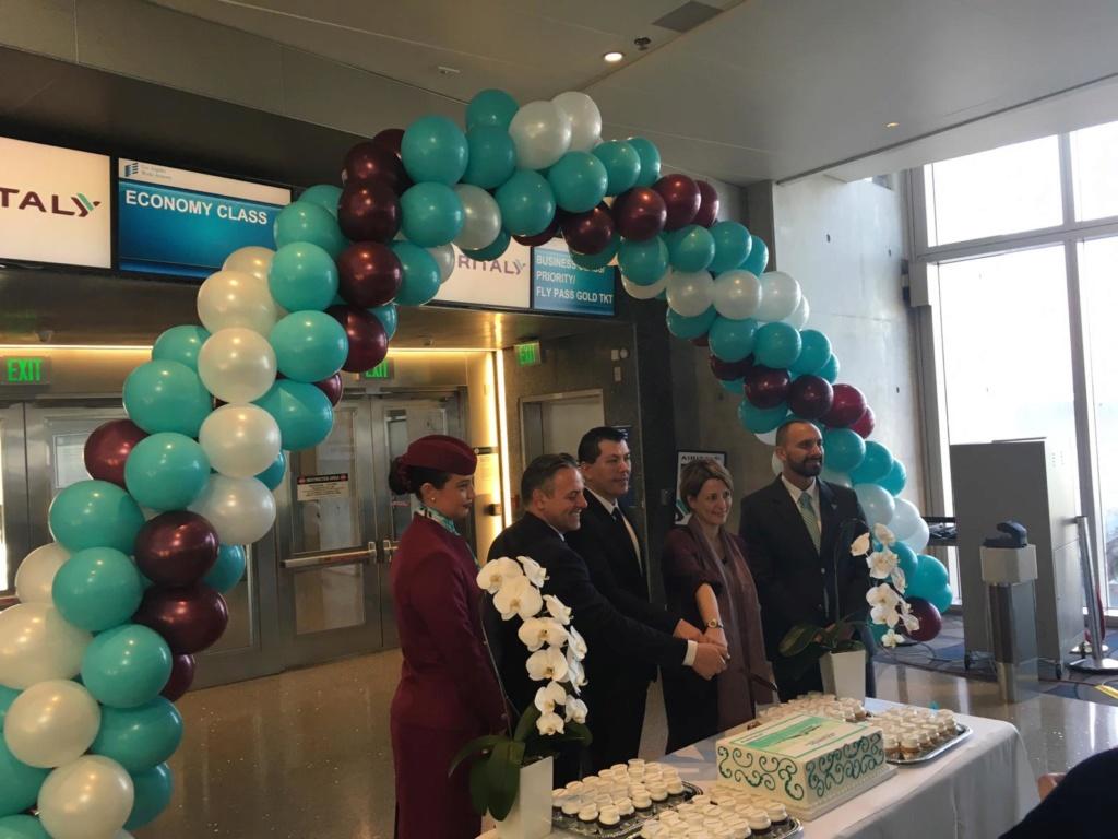 Evento: inaugurazione Airitaly Milano-Los Angeles 5df72910
