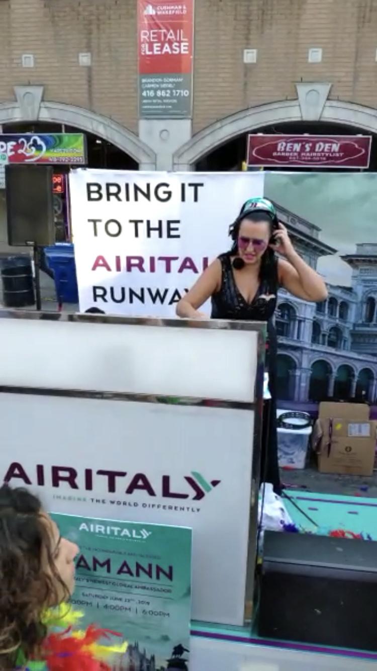 Airitaly sponsor Toronto Pride  60999310