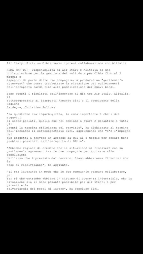 Rivoluzione per la Continuità Territoriale sarda - Pagina 3 65e4d710