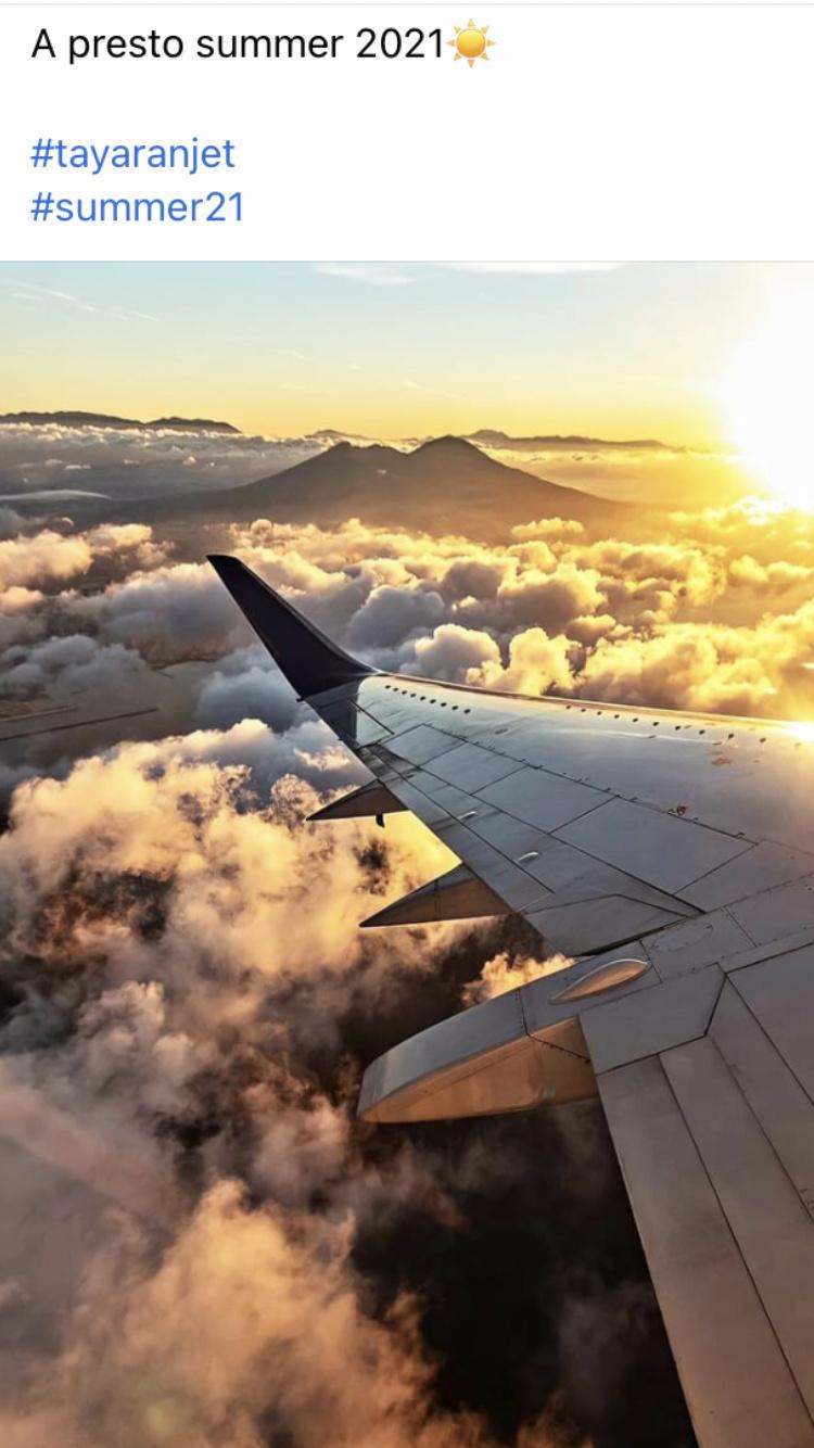 Tayaranjet: nuovi voli nazionali e internazionali 68a72f10