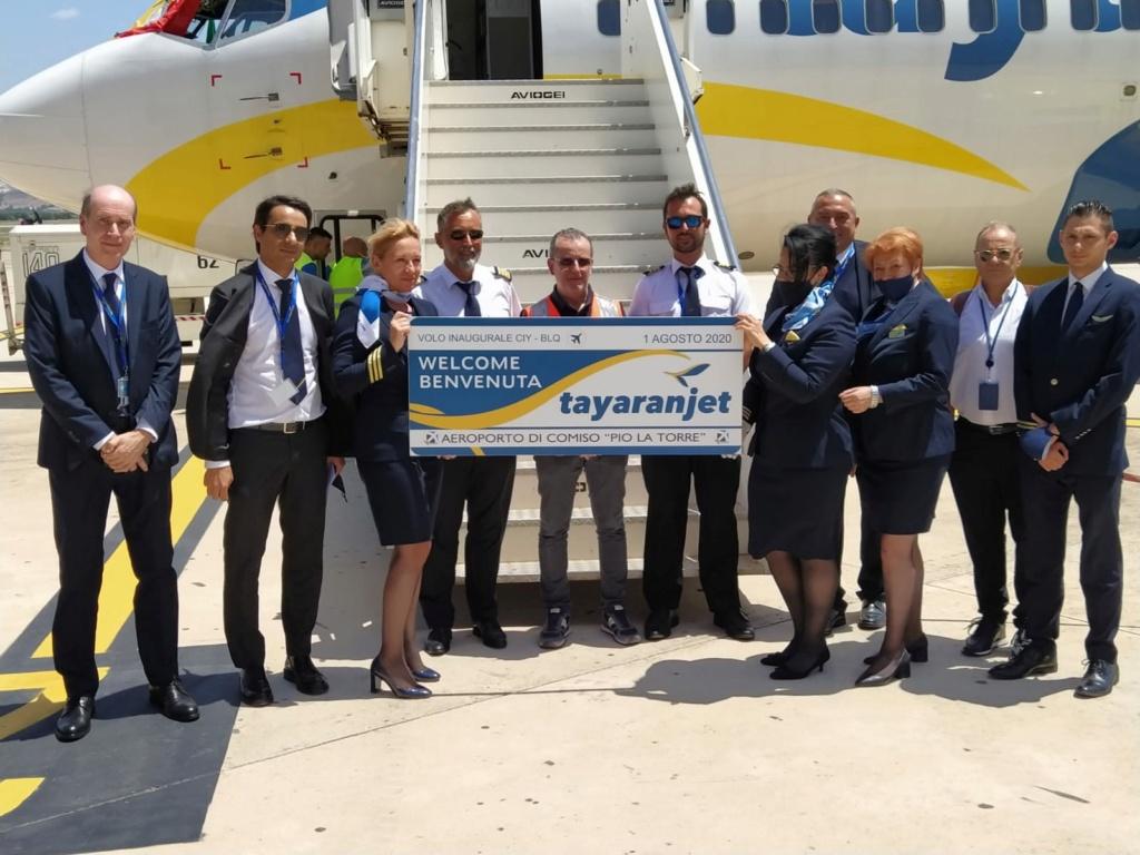 Tayaranjet 1 Agosto al via i primi voli nazionali  - Pagina 2 68ee6110