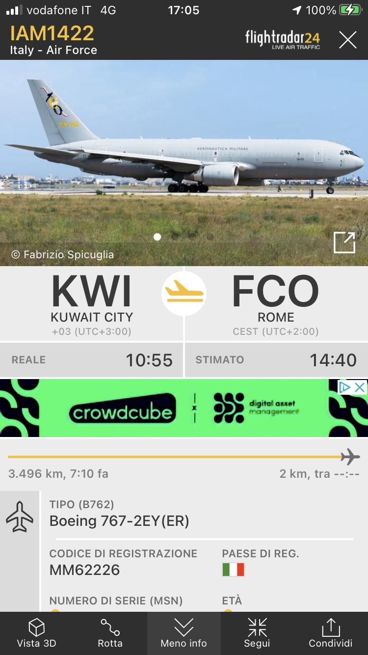 Kabul, Flightradar24 viene spento. 7eb16710