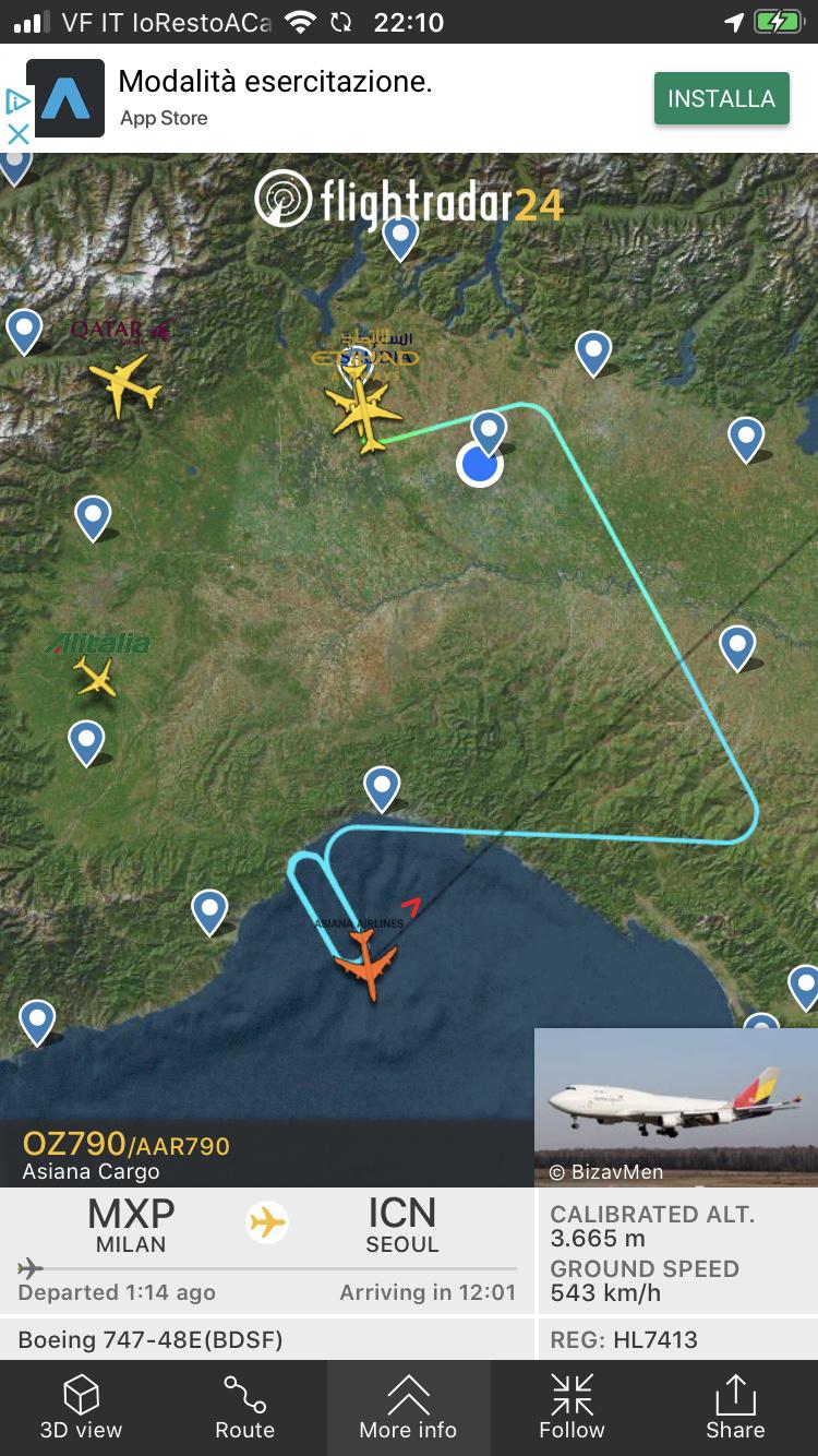 Asiana Cargo rientra a MXP  803cb310
