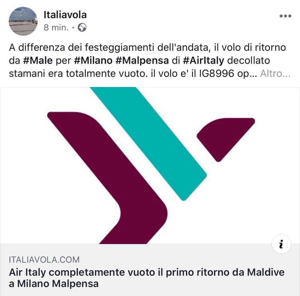 Airitaly: Malpensa il suo hub (Ott19) - Pagina 5 8ea3f710