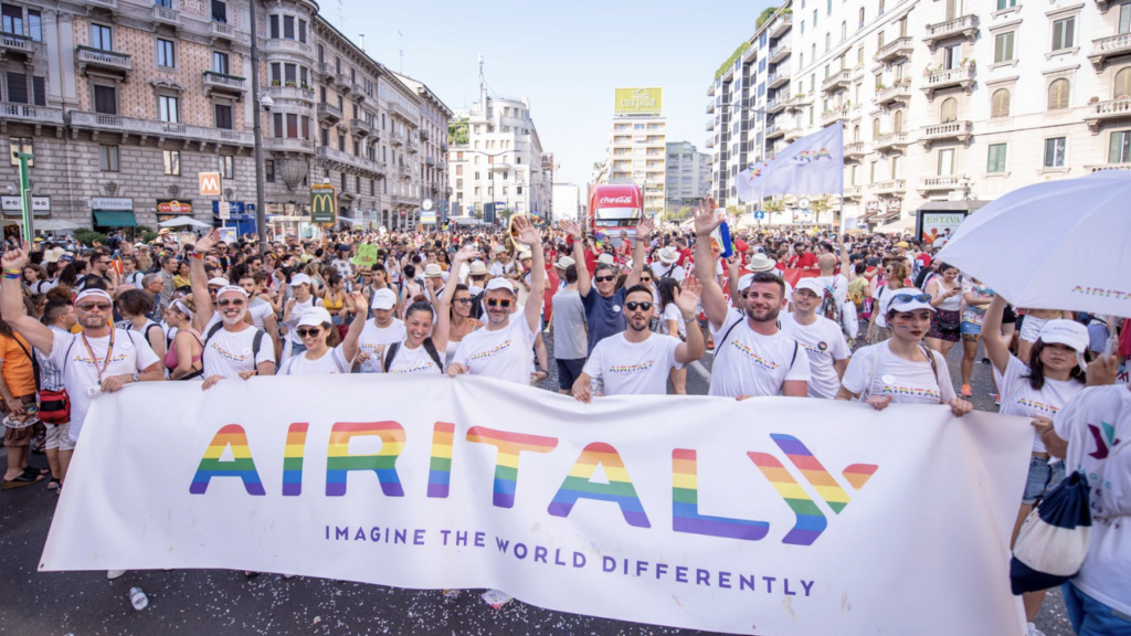 Airitaly sponsor del Milano Pride 93470410