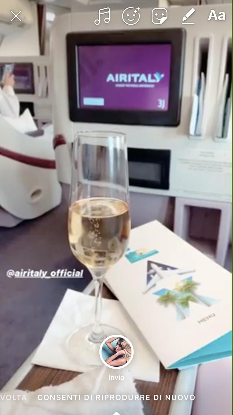 Evento: inaugurazione Airitaly Milano-Los Angeles 9843f710