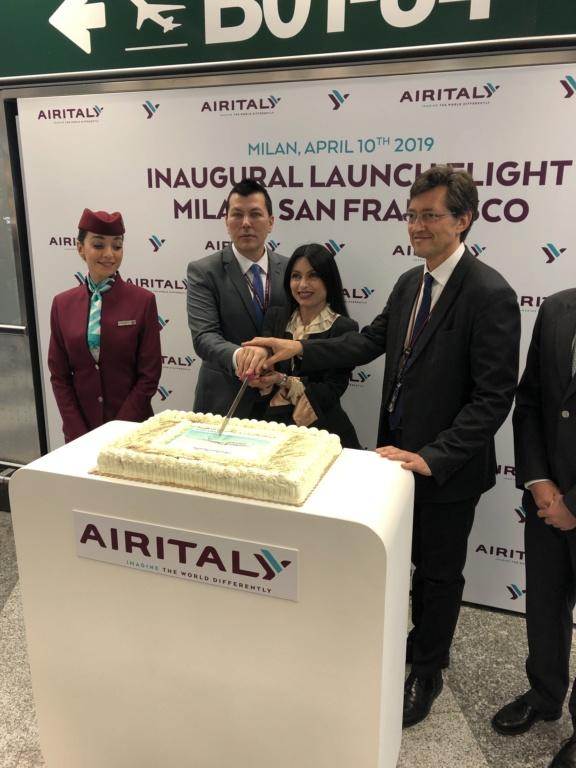 Evento: inaugurazione Airitaly Milano-San Francisco C880bb10