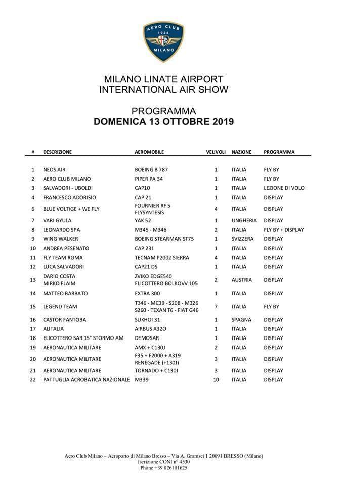 12/13 Ottobre Linate Air Show e rock  Cd315910