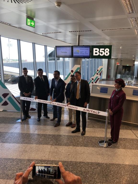 Inaugurazione Milano-Toronto Airitaly Dcc89510