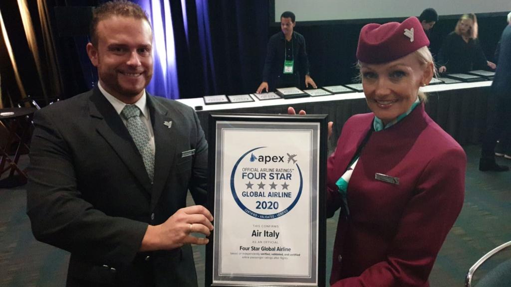AirItaly premiata con 4 stelle Dd1f1810