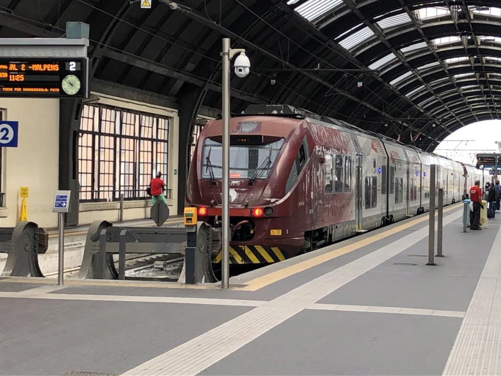 Biglietteria Trenord MXP Exp in Centrale  E3ceea10