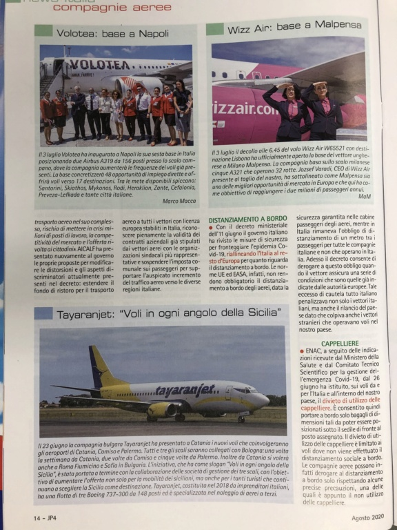 Tayaranjet 1 Agosto al via i primi voli nazionali  - Pagina 2 Edbce110