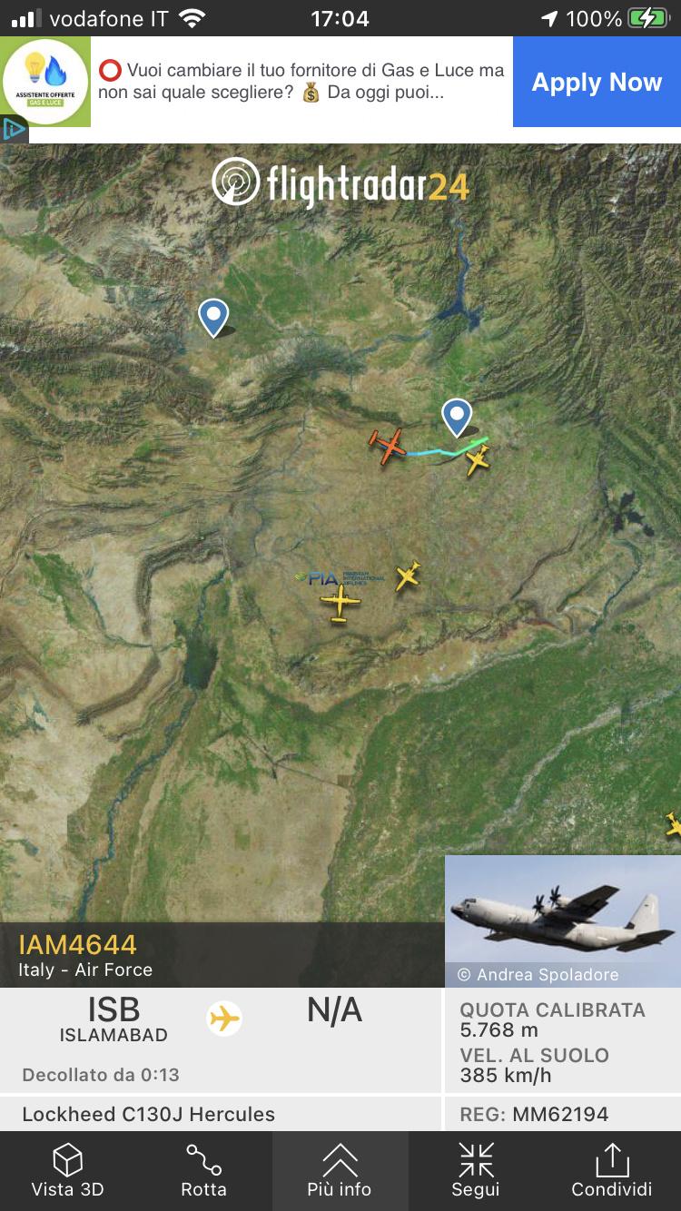 Kabul, Flightradar24 viene spento. F923bc10