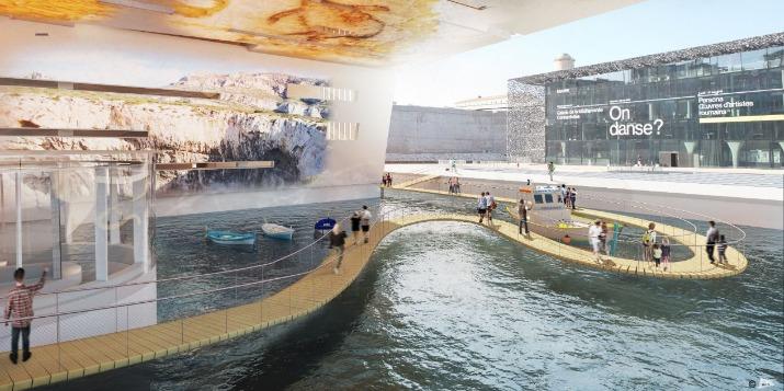 Marseille : la réplique de la grotte Cosquer ouvrira en 2022 Grotte10