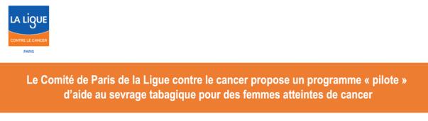 Femmes et tabagisme : un programme pilote de la Ligue contre le cancer Lyftvn10
