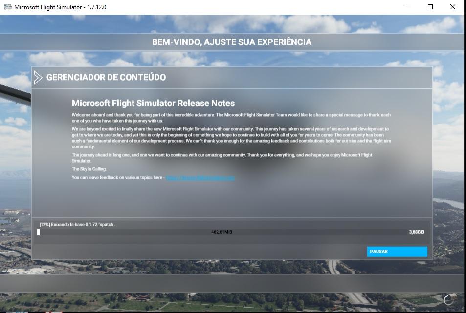 Microsoft Flight Simulator. Fs202010