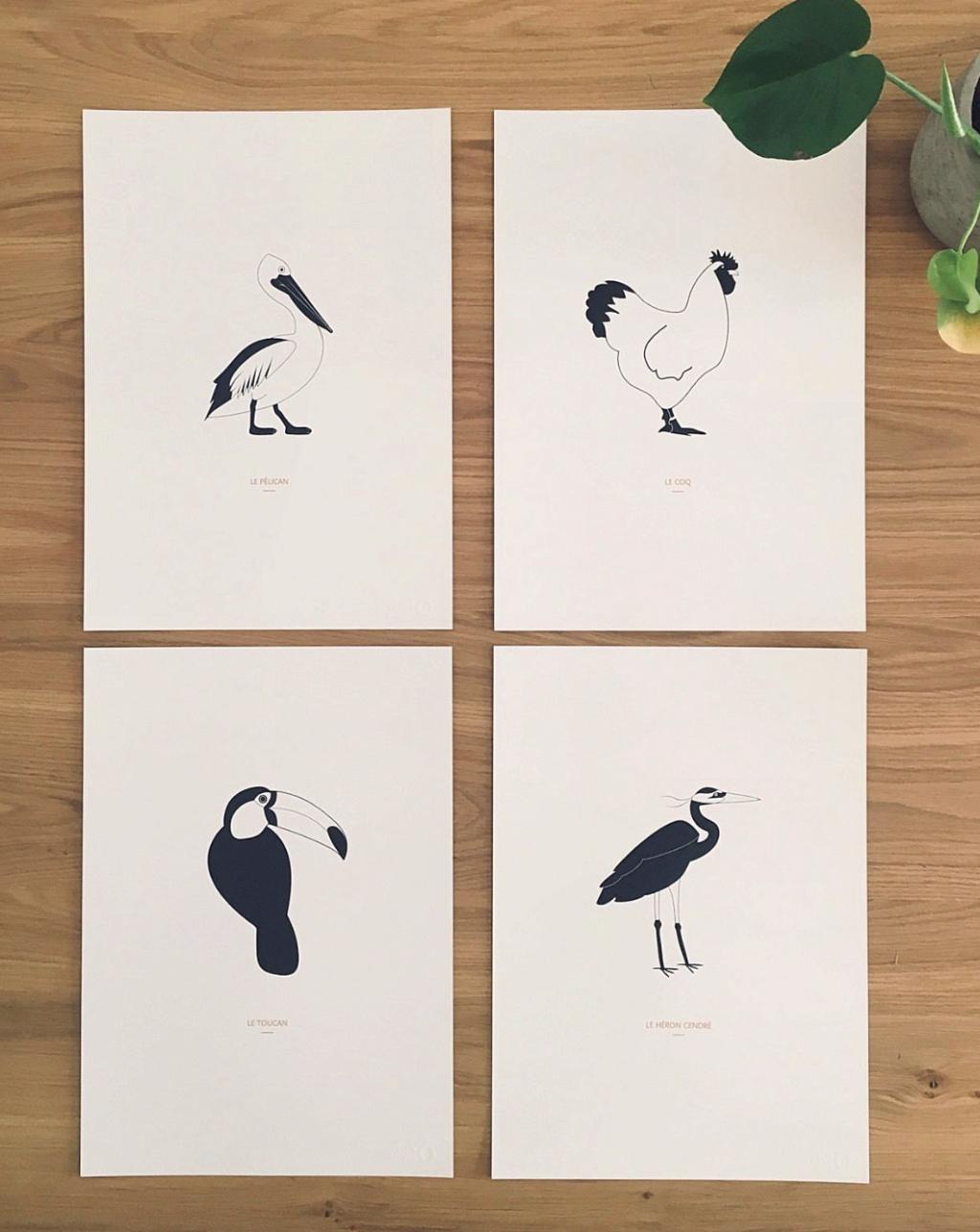 Illustrations décoratives noir et blanc Captur11