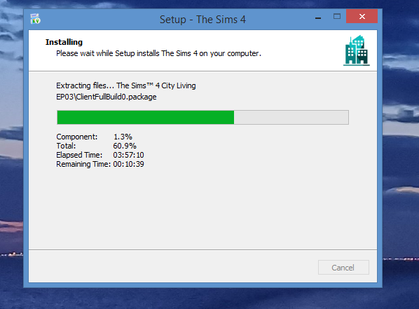The Sims 4 anadius pack frozen on install (I think) Screen10