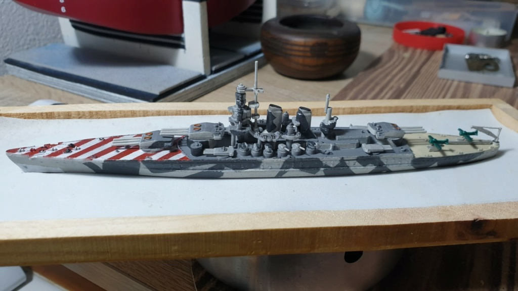 Apertura Cantiere Trumpeter 1:350 R.N. Roma  313