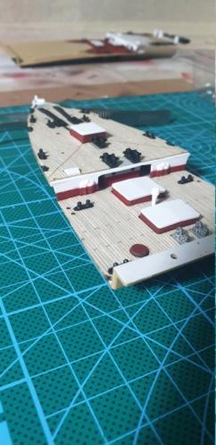 Academy Titanic 1:400 Prua10