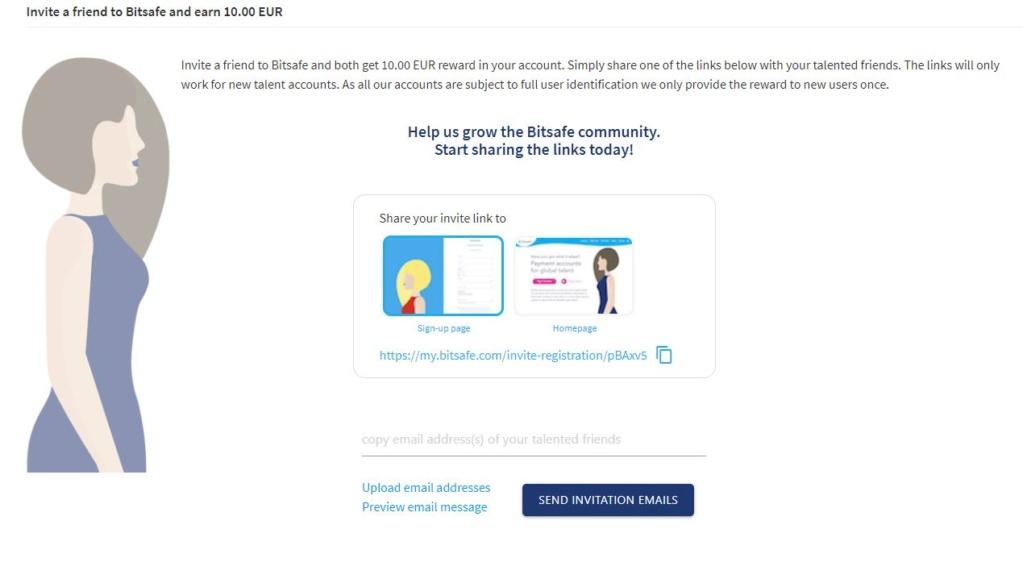 Bitsafe (konto internetowe) - 10eur za rejestrację i polecenie - do sprawdzenia Aaaa10