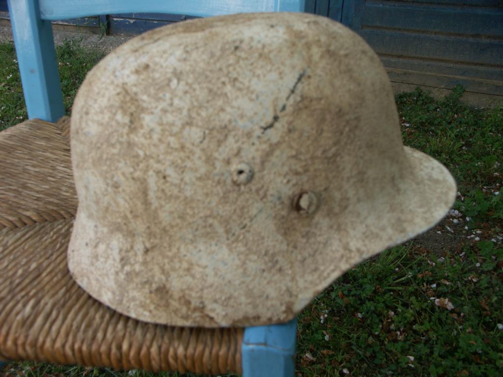 casque allemand camouflé blanc  Pict2210