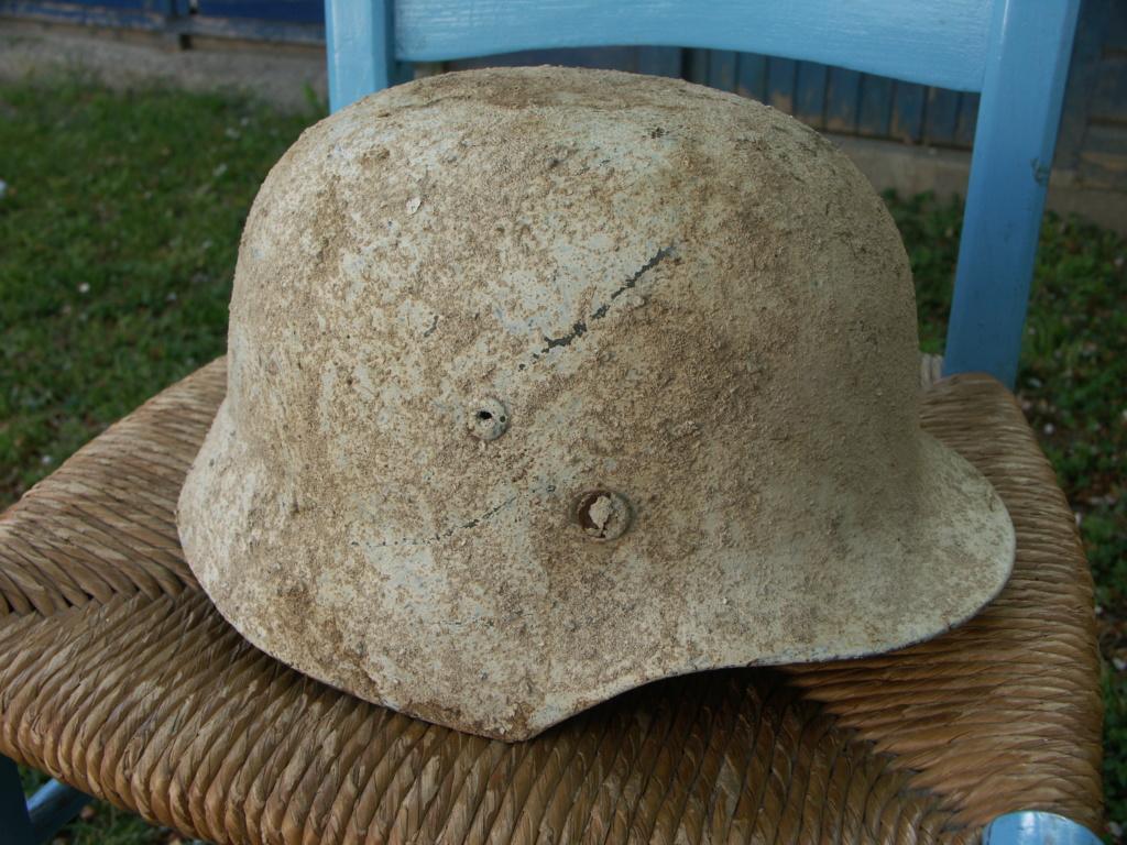casque allemand camouflé blanc  Pict2212
