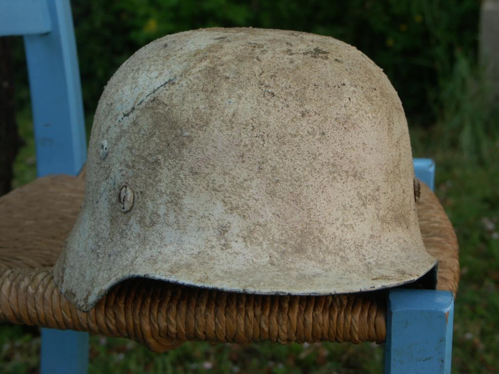 casque allemand camouflé blanc  Pict2214