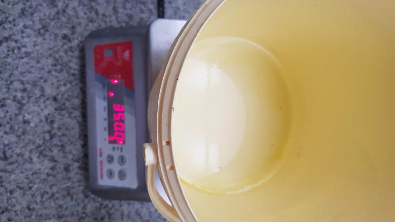 Challenge : pétrissage manuel à haute hydratation.  20200825