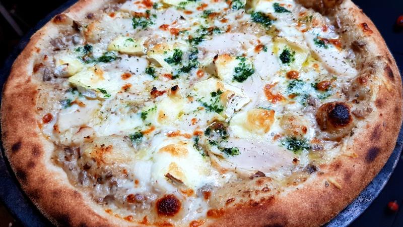 Test nouvelle recette pizza  20210213