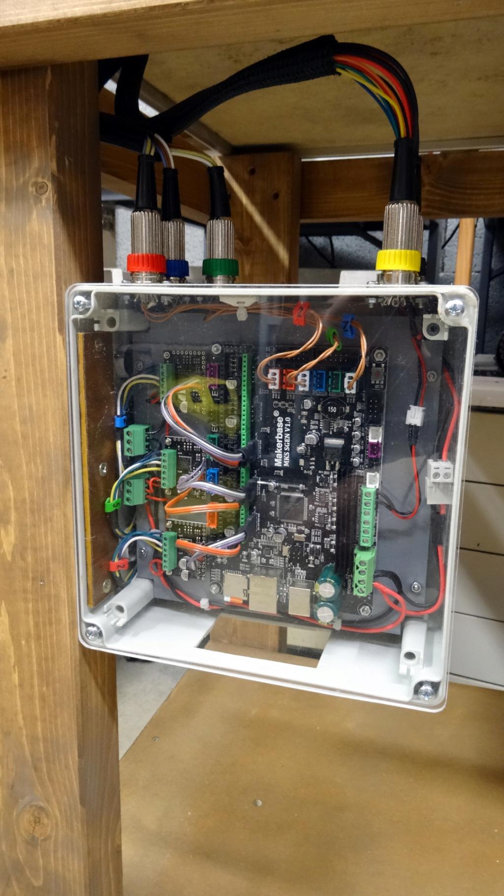 Modification d'une petite CNC Kosy2 40-con10