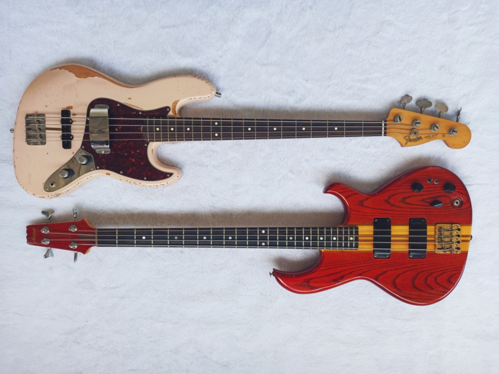 Fender Flea Signature Jazz Bass + Ária Pro SB900 83 Img_2014