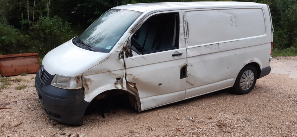 VW Transporter T5 Fourgon accidenté 20200822