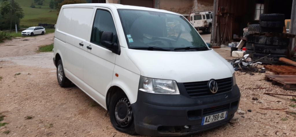 VW Transporter T5 Fourgon accidenté 20200824