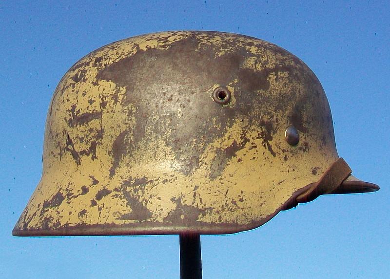 Casque Mod.40 Q66 373: Souvenir d'Afrique Helm_111