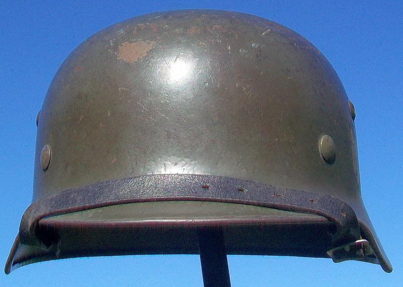 Casque Mod.35 DD SE66 3137 Heer Helmet38