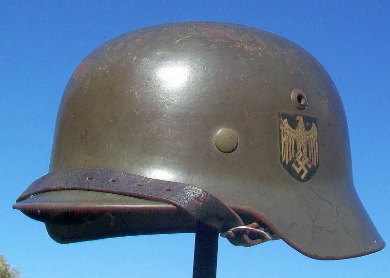 Casque Mod.35 DD SE66 3137 Heer Helmet39