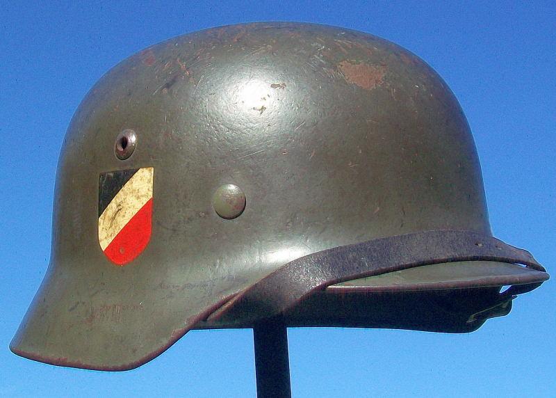 Casque Mod.35 DD SE66 3137 Heer Helmet40