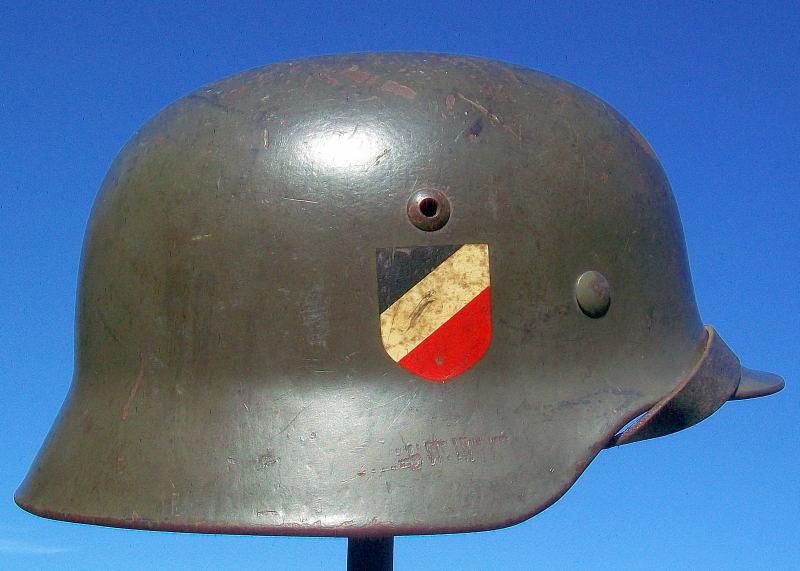 Casque Mod.35 DD SE66 3137 Heer Helmet41