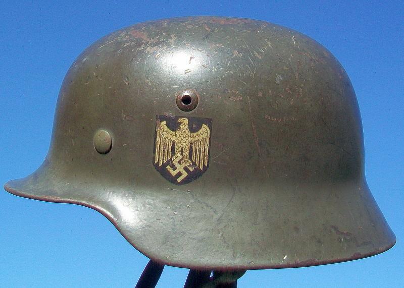 Casque Mod.35 DD SE66 3137 Heer Helmet42