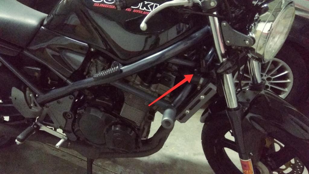 Cargador de movil para la moto Cargad13