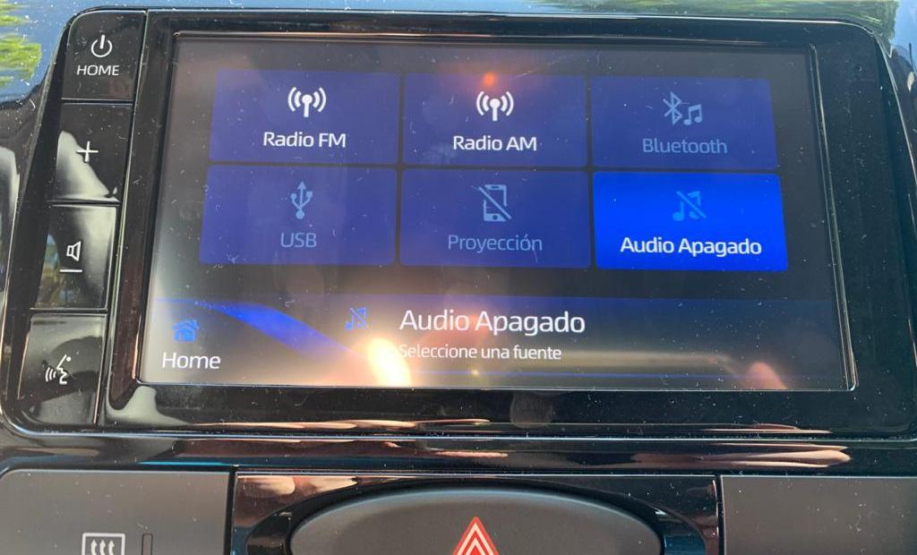 Toyota Etios 2021: actualizaciones en audio y conectividad Multim11
