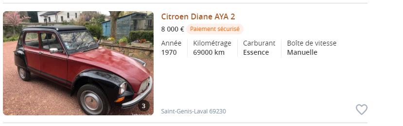 Dyane, les prix flambent !! en 2021... Captur12